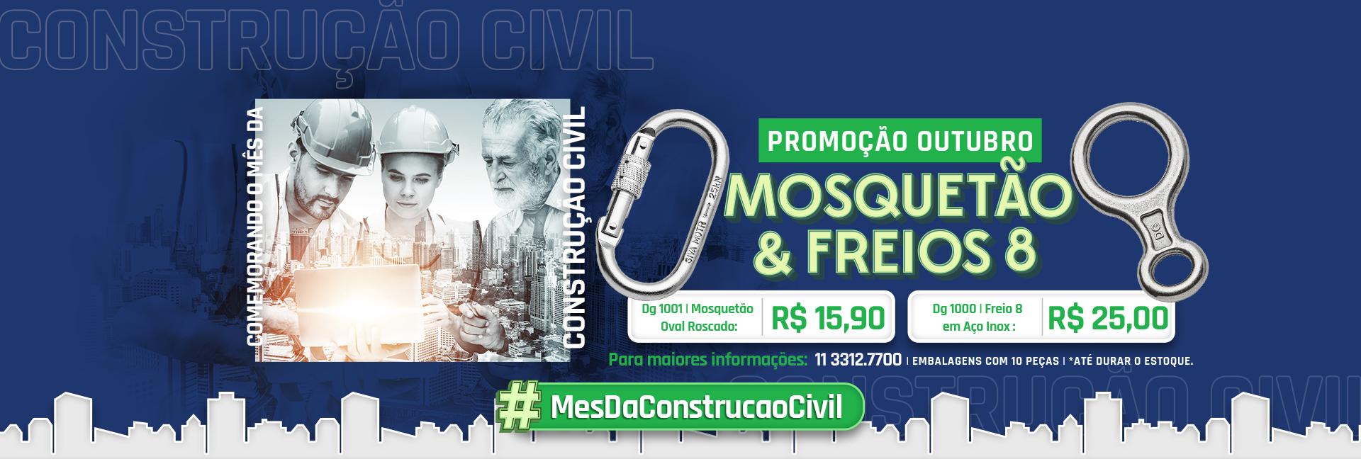 Construção civil promoção outubro